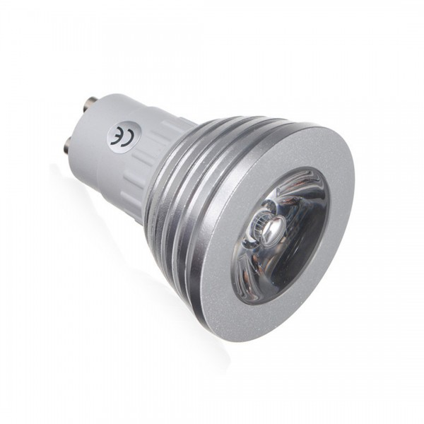 Ampoule Spot LED GU10 - 4 Watts - RGB avec Contrôleur