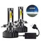 Kit H7 2x  Ampoules LED de Voiture 72W 6500K 10000LM 12V - Garantie à Vie