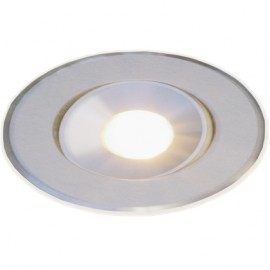 Encastré 1W LED 12V Blanc Chaud