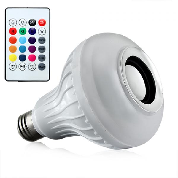 Ampoule LED Bluetooth 12W avec Haut-Parleur
