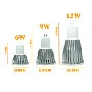 Ampoule LED GU5.3 220V - 6 à 12 Watts