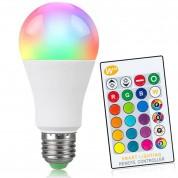 Ampoule LED E27 RGB - 10 Watts = 700Lm (equiv. 80W)