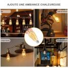 Ampoule LED E27 Filament Vintage 2700K = 400Lm (Equiv. 40W)