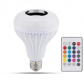 Ampoule RGB E27 5w avec haut-parleur Bluetooth intégré