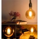 Ampoule LED E27 4W Filament Edison Globe G80 G95 G125