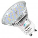 Ampoules LED GU10, 6W équivalent 60W, 600lm, Blanc Neutre 4500K, 120 Degrés Larges Faisceaux, Ampoules LED Spot, Lot de 10