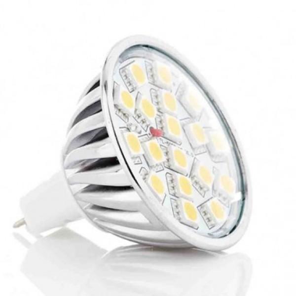 Ampoule LED MR16 (GU5.3) - 4 Watts - Angle de Diffusion Large