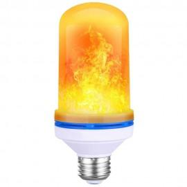 Ampoule LED E27 9W à Effet de Flamme