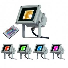 Projecteur LED Extérieur - RGB - IP65